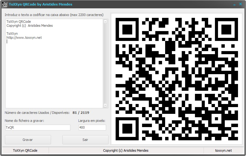 ToXXyn QRCode